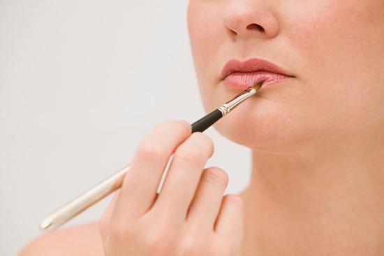 El maquillaje de los labios