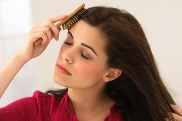 El cepillado del pelo