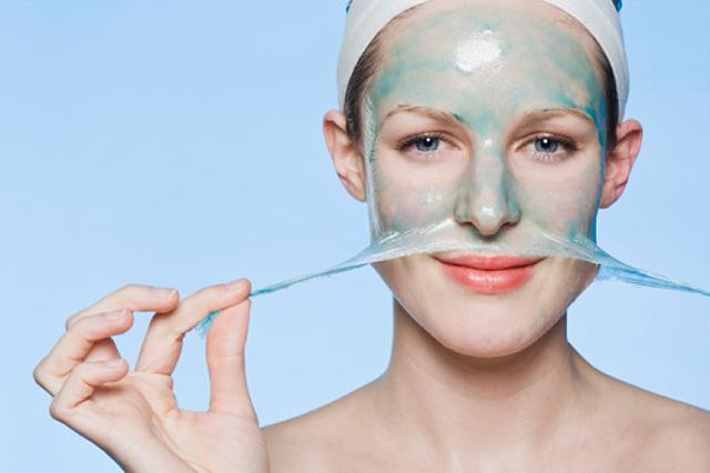 Exfoliación y mascarilla facial