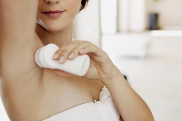 La eficacia de los desodorantes