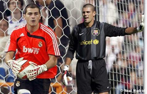 Victor Valdes Iker Casillas