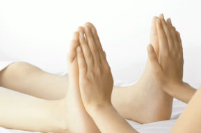 Reflexología y vientre en plena forma