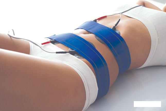 Perder centímetros con electro-estimulación