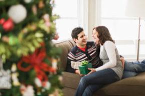 ¿En tu casa o en la mía? Primera Navidad juntos
