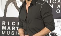 Ricky Martin y su pareja en público