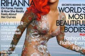 Estilo Rihanna en Vogue