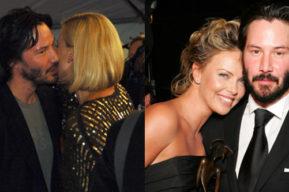 Se confirma relación sentimental entre Keanu Reeves y Charlize Theron