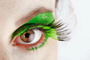 El maquillaje de los ojos