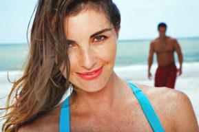 El cuidado del pelo en la playa