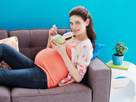 comer embarazo