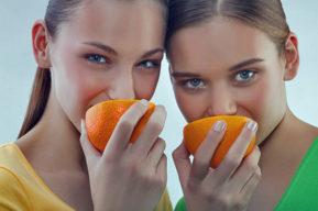 Cosméticos a base de frutas