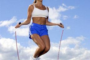 Saltar la soga para bajar de peso