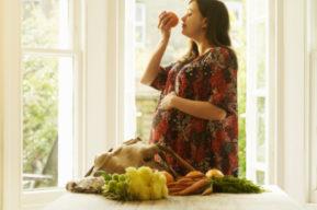La modificación del gusto y el olfato durante el embarazo