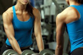 Ejercicios de fuerza y resistencia benefician la figura