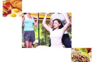Ejercitarse antes o después del desayuno