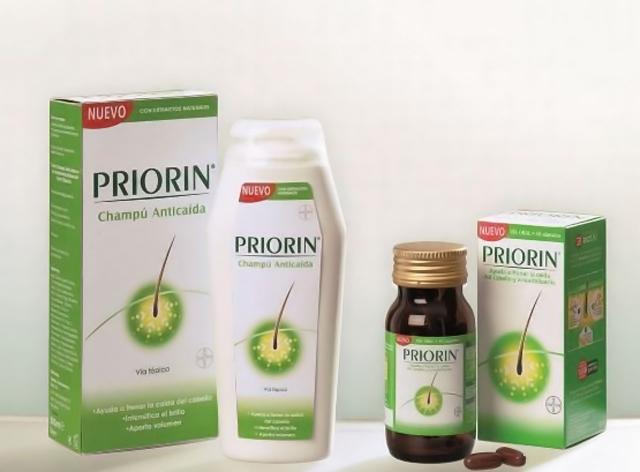 priorin capsulas