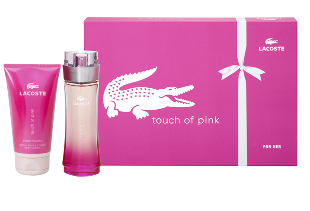 touch of pink lacoste