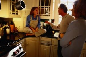 discusiones familiares