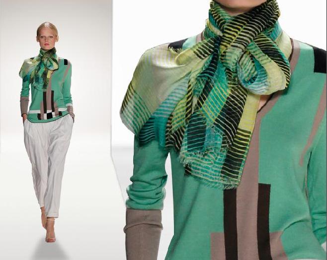 Carolina Herrera avance colección  primavera-verano 2012