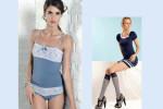 Colección Primavera Verano 2012 lencería y medias Goldenpoint