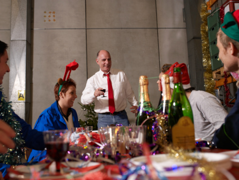 Concursos de decoración navideña en la oficina