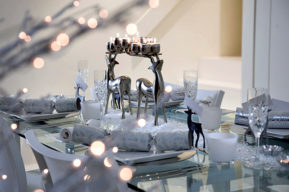 Decoración navideña, ideas para confeccionar un centro de mesa