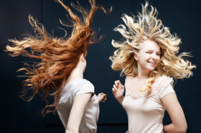 Dando volumen al cabello