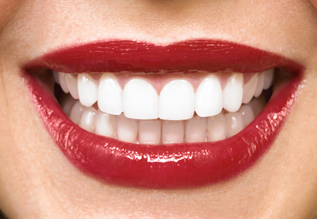 sonrisa de mujer