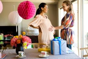 Embarazo, ocasión para celebrar una baby shower