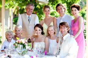 Los invitados a una boda bio
