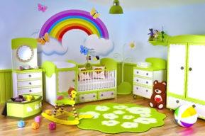 Cómo crear un lugar para el bebé en un apartamento