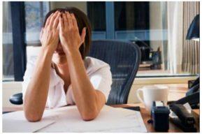 Más de ocho horas de trabajo puede causar depresión