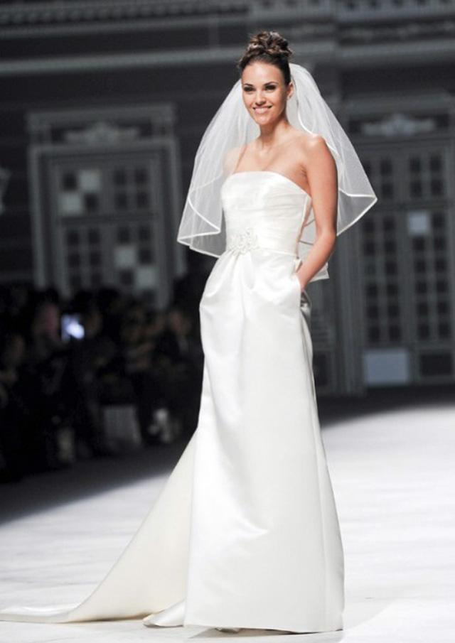 Vestidos de novia adelantos 2013
