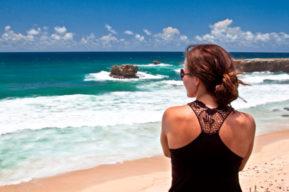 Peinados para llevar en la playa
