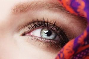Ojo de mujer