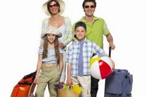 Vacaciones de verano en familia
