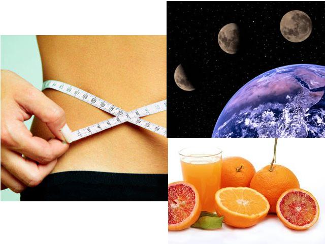 Dieta de la Luna durante Septiembre