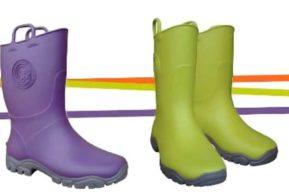 Ducky, las botas de lluvia ecológica y perfumadas
