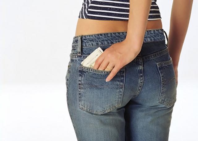 Mujer en Jeans