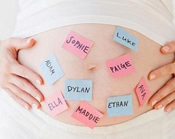 Tips para elegir el nombre del bebé