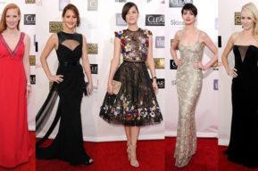Look de las famosas en los Critics Choice Awards 2013