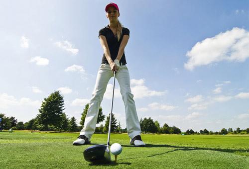 El golf, un deporte ideal para todo tipo de mujeres