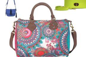 Coloridos bolsos para el verano