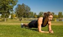 El plank, entrenamiento para estar en forma