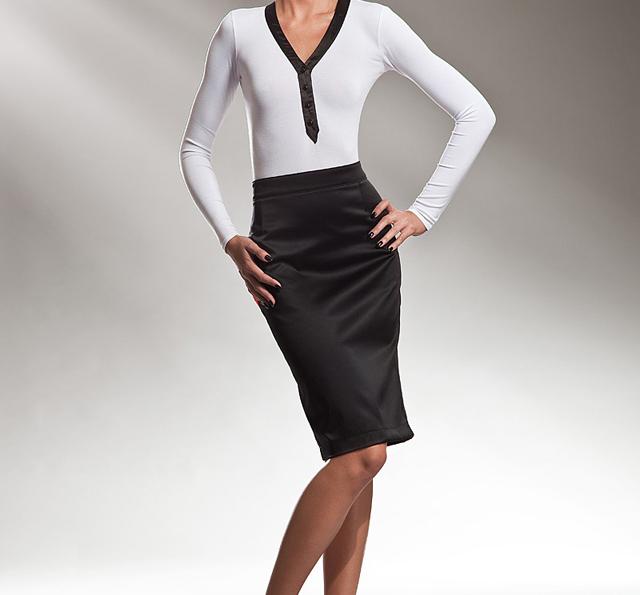 950563372 La falda de tubo, imprescindible para una mujer sexy
