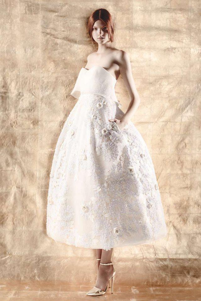 Espectaculares vestidos de novia de DelPozo