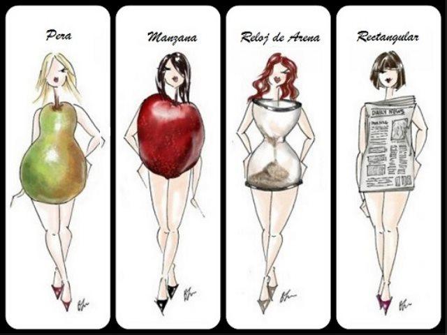 Conoce la forma de tu cuerpo y escoge la ropa adecuada