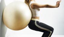 Mantenerse en forma con el Swissball