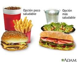 Comida rápida y saludable
