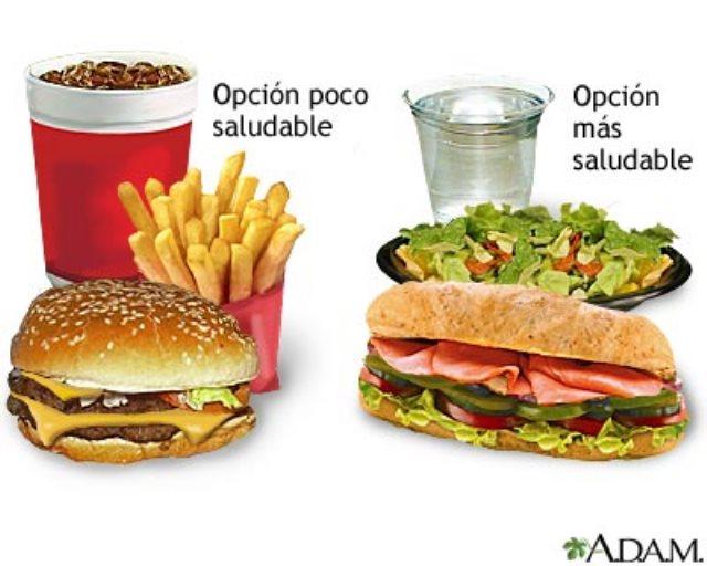 Comida r pida y saludable efe blog for Preparar comida rapida